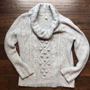 Super soft St Johns Bay Cowl neck sweater-so cozy!
